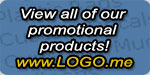 View our other Promotional Products at Logo.me.